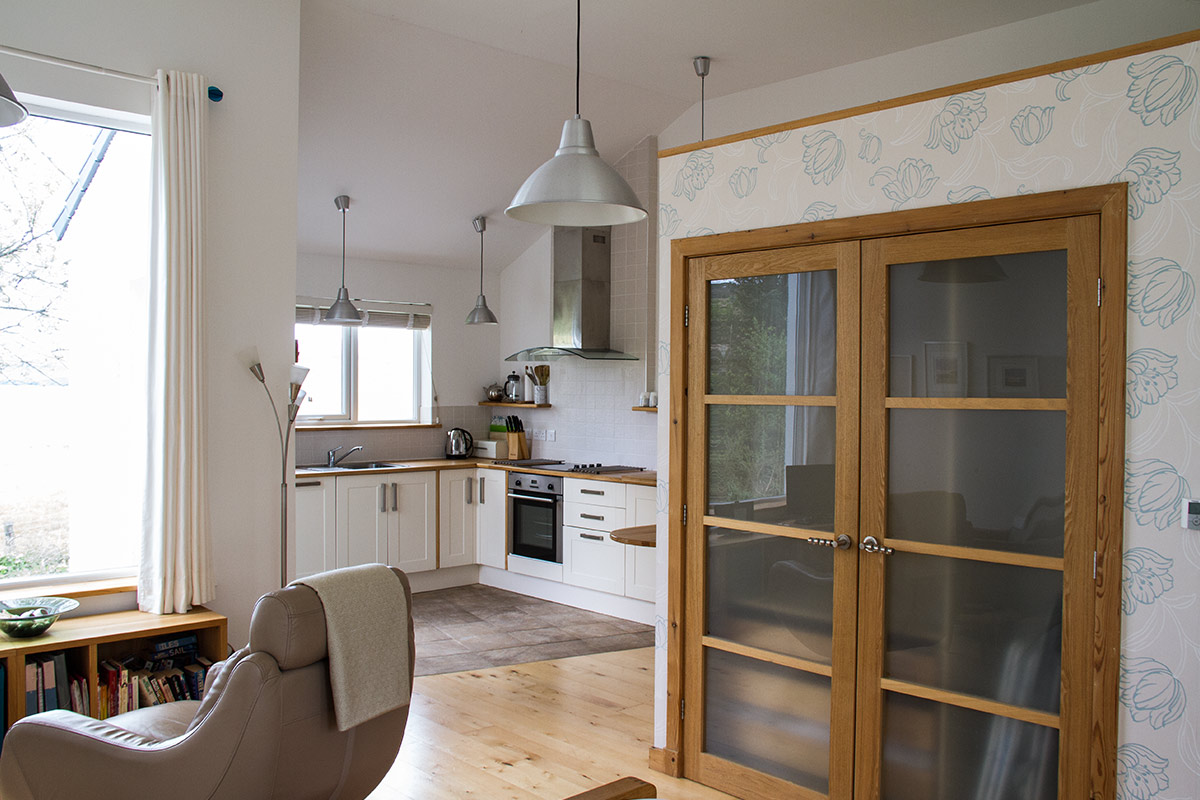 Knott Cottage self catering, Isle of Skye, kitchen