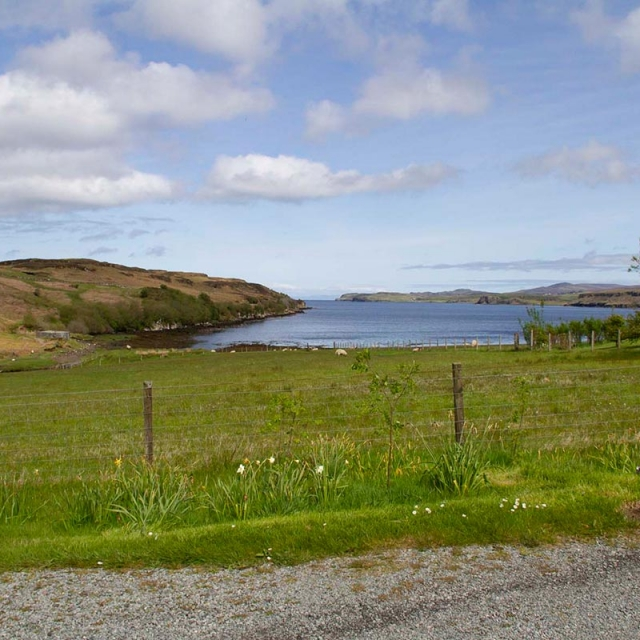Knott Cottage self catering, Isle of Skye, view