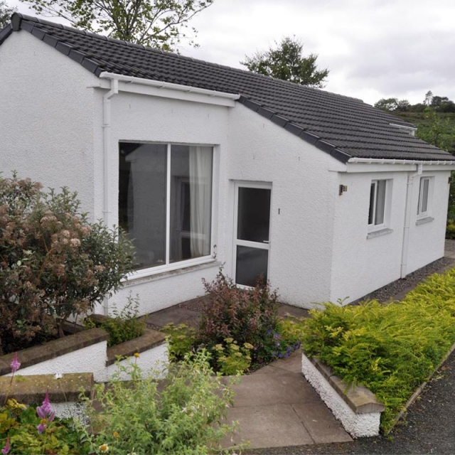 Knott Cottage self catering, Isle of Skye, studio 1, external