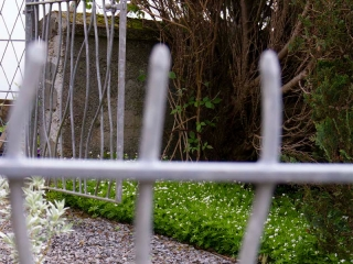 Knott Cottage self catering, Isle of Skye, garden, gate